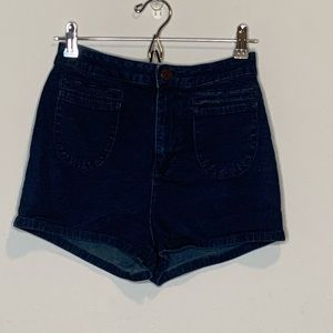 BDG High waist Denim jean shorts size 28